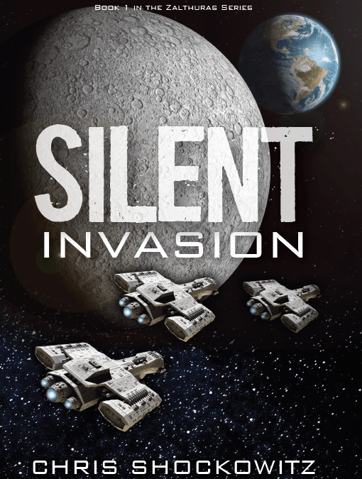 Book cover silent invasion by Chris Shockowitz