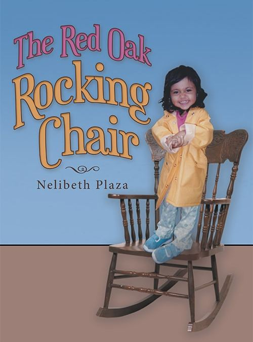 red oak rocking chair by nelibeth plaza