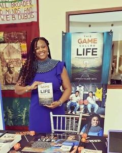 This game called life by latracia tolbert brite book signing photo