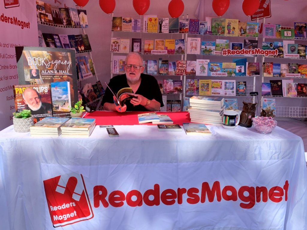 ReadersMagnet Review: Building a Community of Authors through Book Fairs