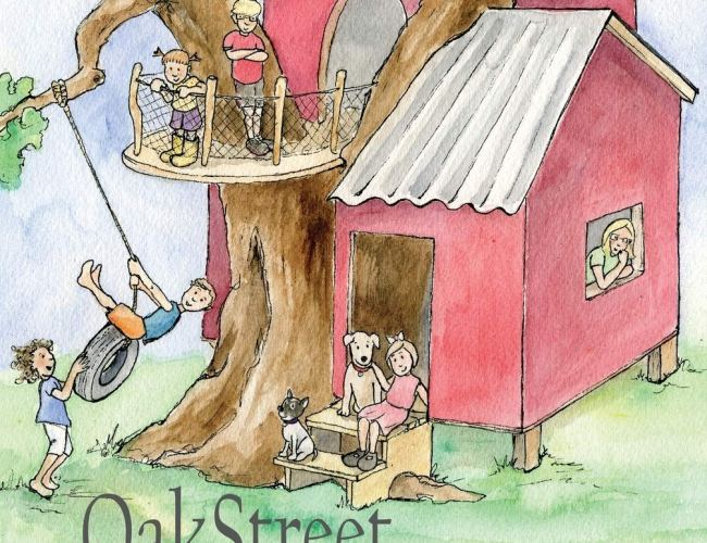 """Oak Street Treehouse: The Day They Messaged God"" by Dick Daniels"