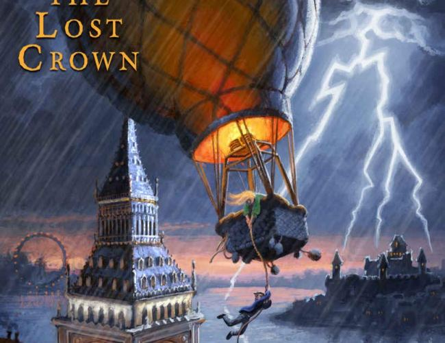 Britfield and The Lost Crown by C.R. Stewart