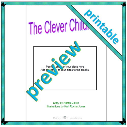 The Clever Children – printable