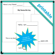 About me printable 2