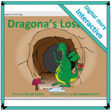 an interactive story involving logical thinking and problem-solving: Dragona's Lost Egg