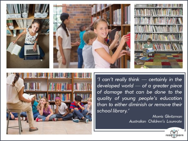 Morris Gleitzman quote about libraries