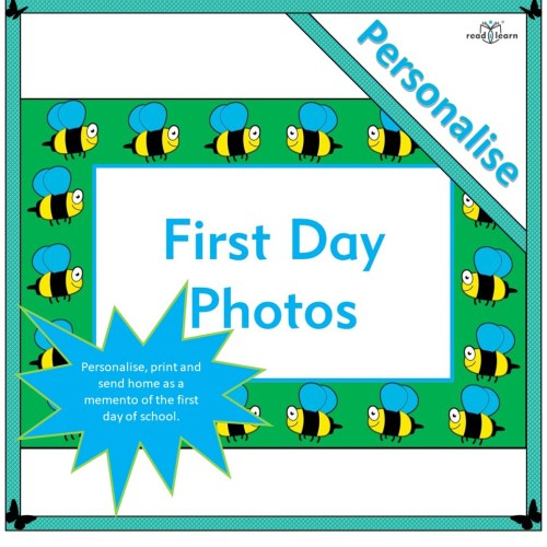 First Day Photos to print as mementos