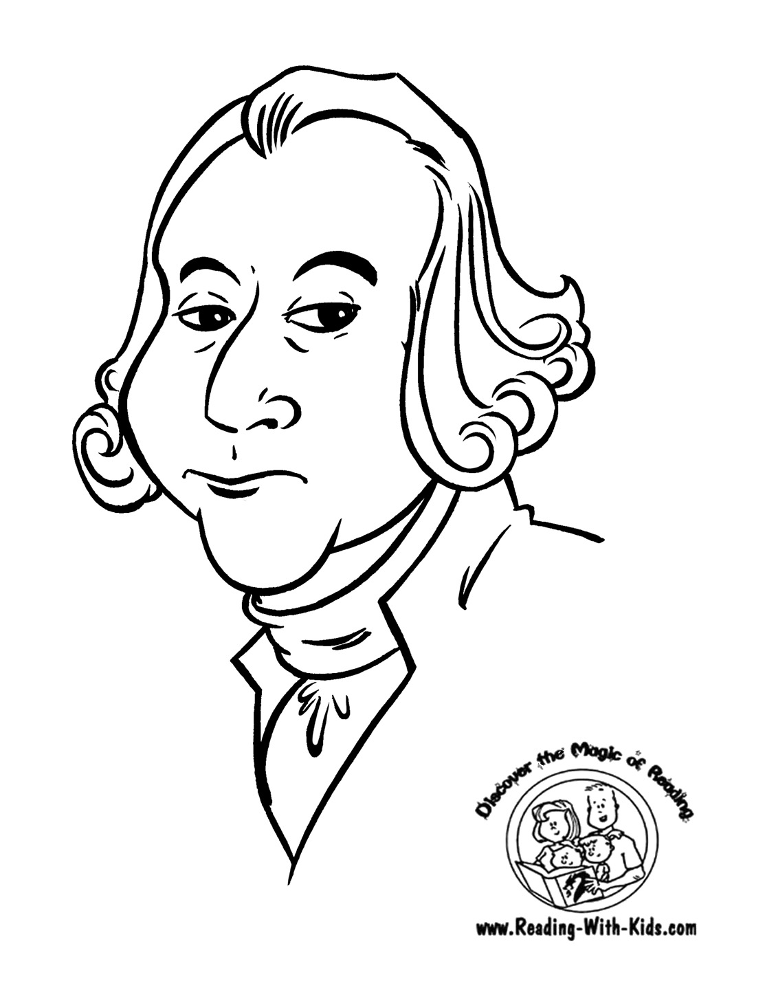 - Presidents Day Free Coloring Pages On Masivy World. George