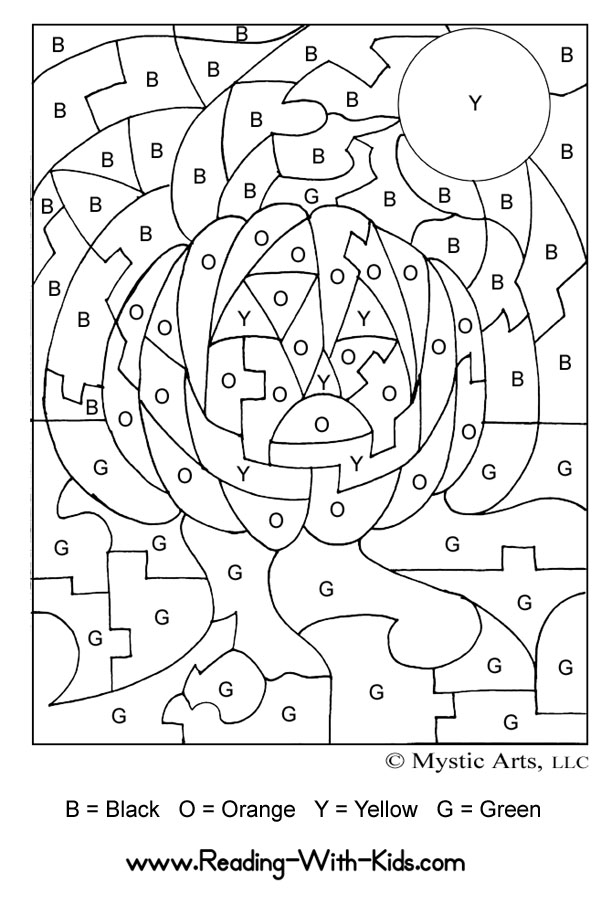color by letters color by number coloring pages worksheet gt