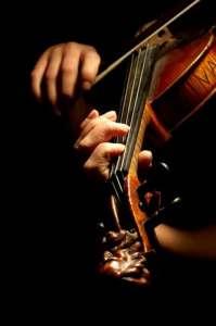 Violin-being-played