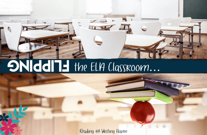 Trying to figure out how to flip an English or ELA class? I've flipped my ninth grade English classes for years with students at various ability levels. Read about what I've learned through trial, error, and research in this post. Find classroom management, assessment, homework, video, and accountability tips.
