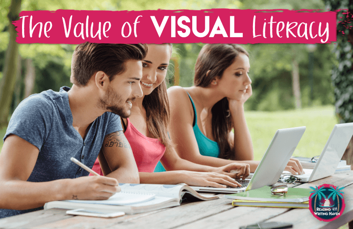 Teach visual literacy early in the year or any time you are expecting students to approach a visual text independently. Provide guidelines and model best practices to increase engagement and retention.