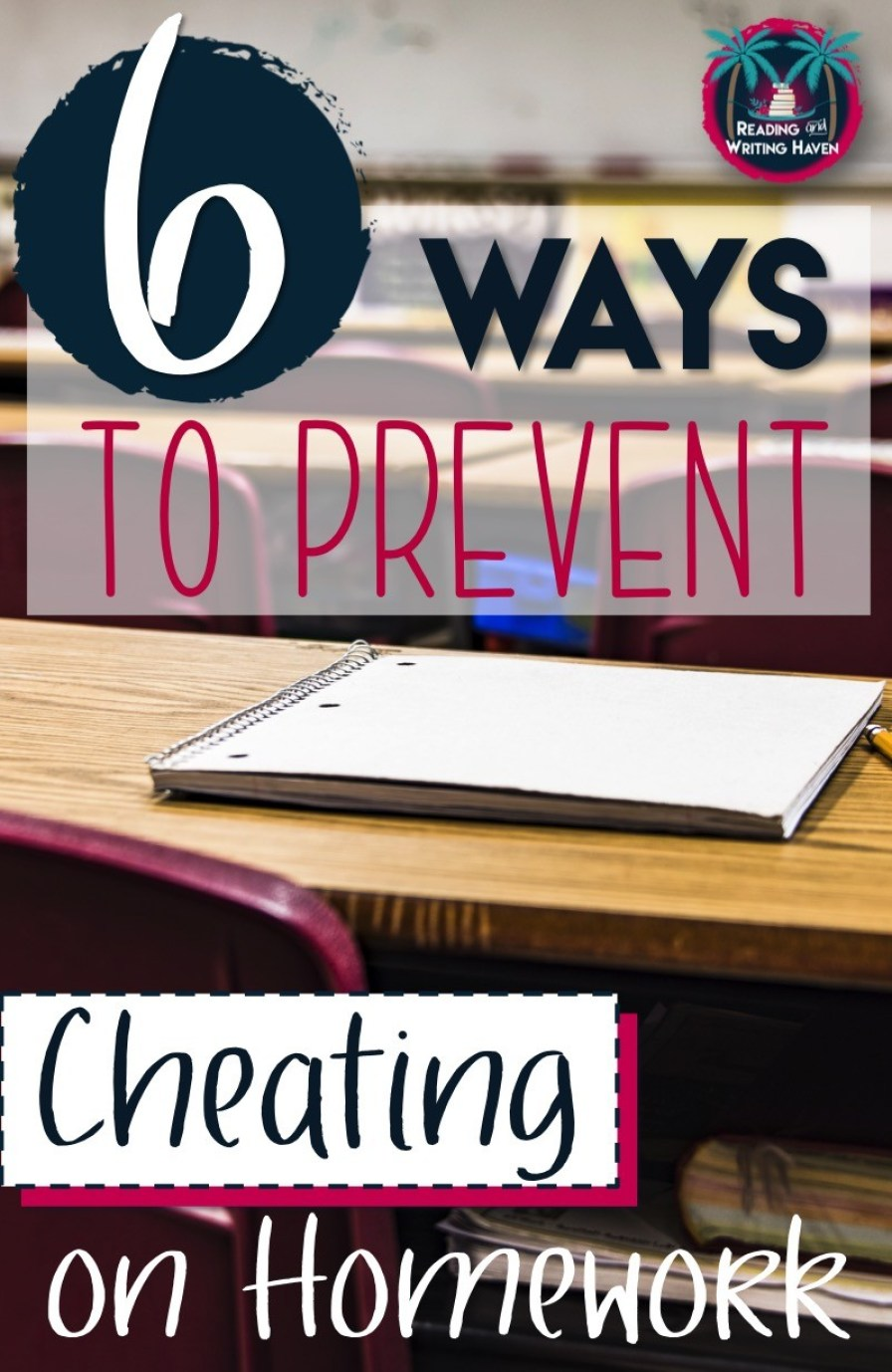 Are your students cheating on homework? The cheating epidemic is one of the most stressful thorns in a teacher's side. Yet, preventing cheating on homework is not as complicated as one might think. Try one of these approaches in your classroom.