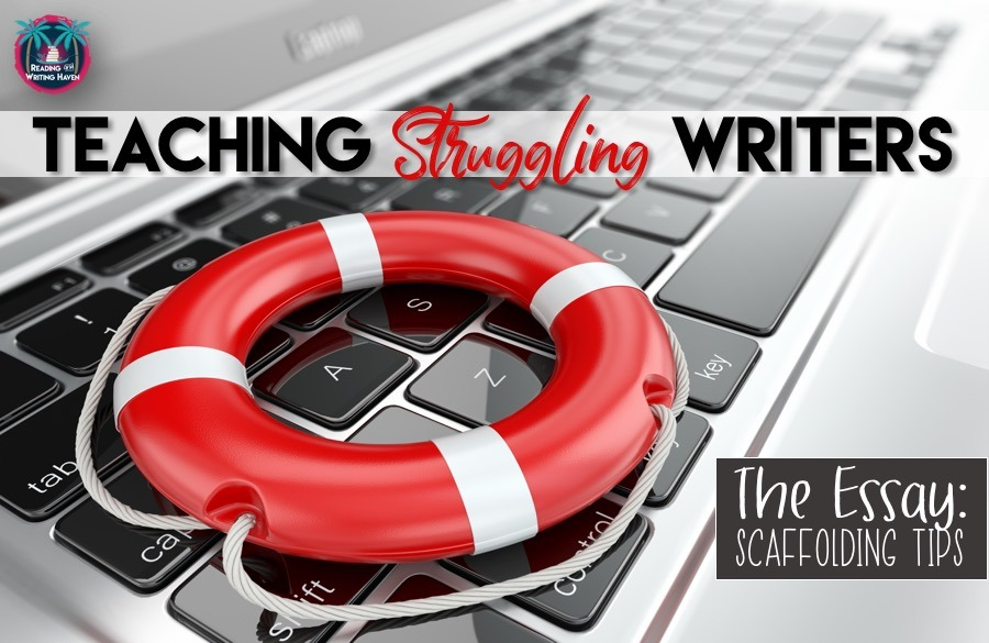 Teaching struggling writers can be difficult at any age, but especially in high school. In this post, read about different ways you can scaffold your writing instruction to make the multiple-paragraph essay accessible for all students.
