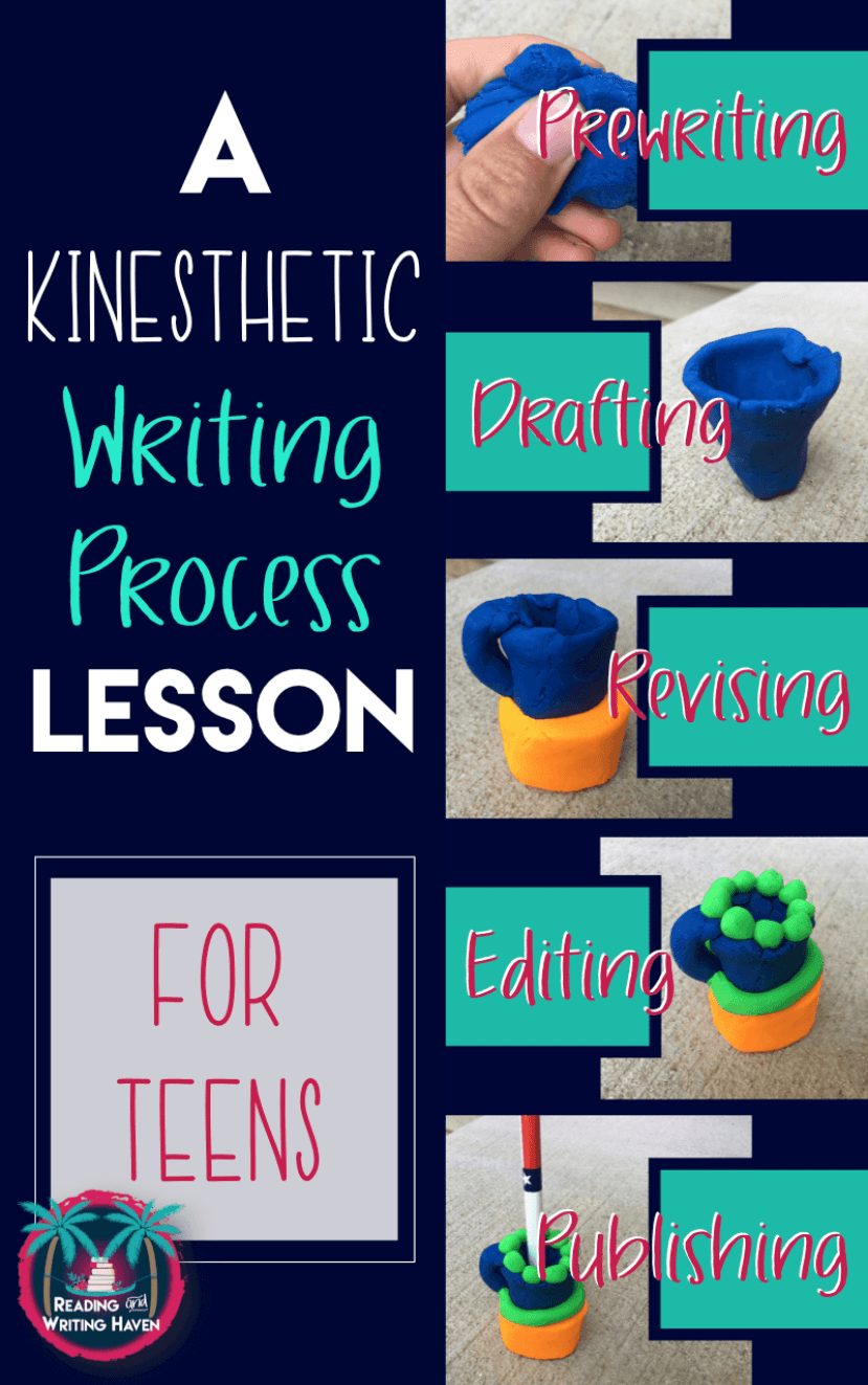Teach students to understand the writing process using a metaphor that compares writers to sculptors. High school English differentiated lesson plan.