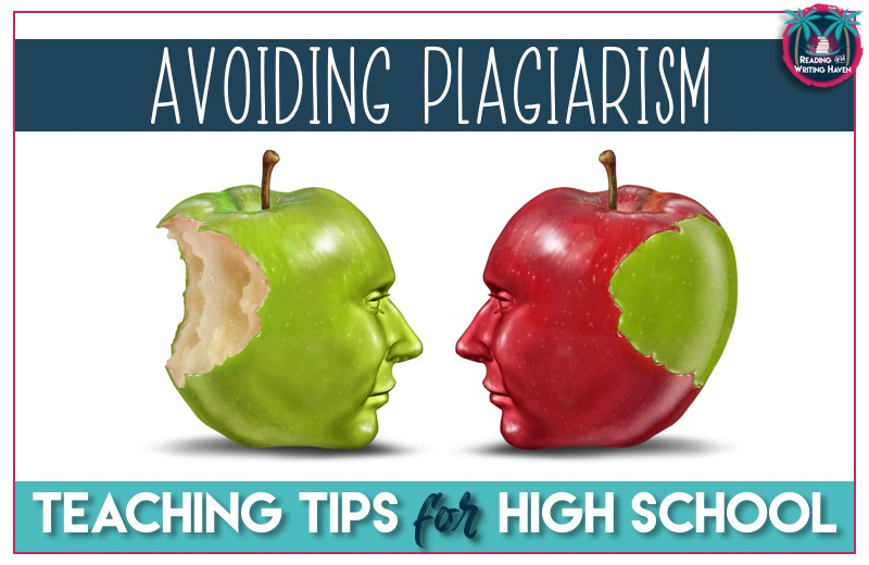Teaching students to avoid plagiarism in high school is one of the most important lessons teachers can impart. Read about practical and effective ways to scaffold students' understanding in this article from Reading and Writing Haven.