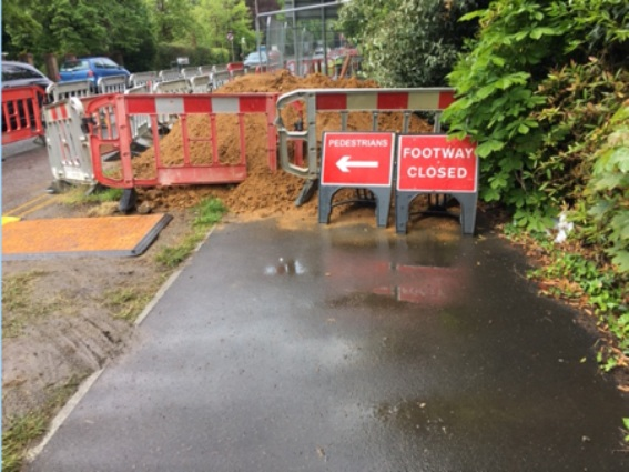 Poor signage for cycling 2
