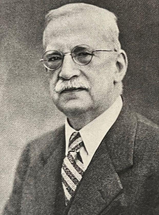 Portrait of Levi W. S. Mengel