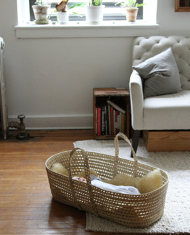 Baby Proof: Baby In A Basket. U2013 Reading My Tea Leaves U2013 Slow, Simple,  Sustainable Living.