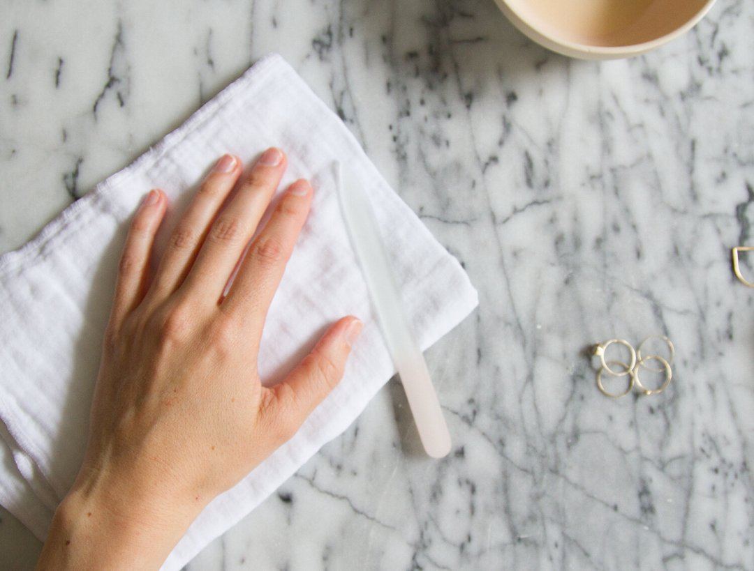 healthy natural nails with hortus nailworks | reading my tea leaves