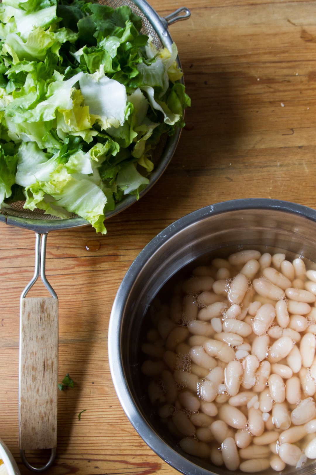 waste not: white bean and escarole soup | reading my tea leaves