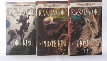 Transitions Books by R.A. Salvatore