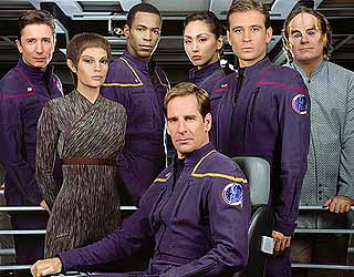 The Enterprise crew