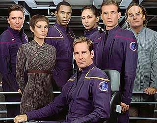 The Enterprise crew