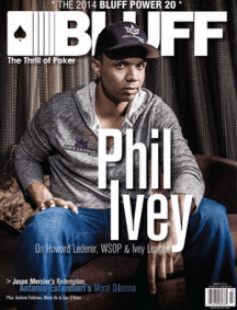 Bluff magazine Phil Ivey cover