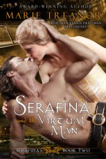 Serafina and the Virtual Man by Marie Treanor