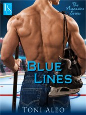 blue lines by toni aleo