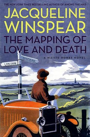 mapping of love and death by jacqueline winspear