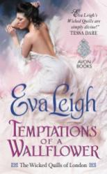 temptations of a wallflower by eva leigh