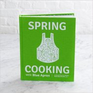 spring cooking with blue apron