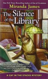 silence of the library by miranda james