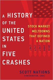 history of the us in five crashes by scott nations
