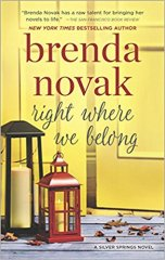 right where we belong by brenda novak
