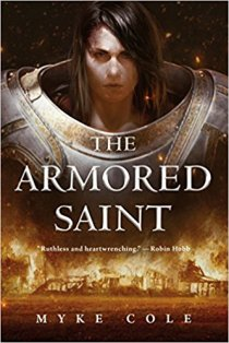 armored saint by myke cole