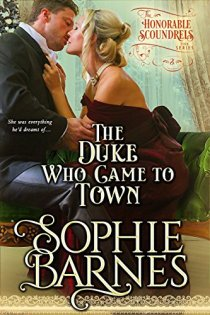 duke who came to town by sophie barnes