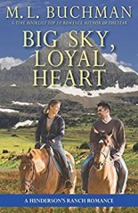 big sky loyal heart by ml buchman