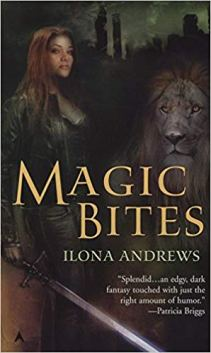 magic bites by ilona andrews original cover