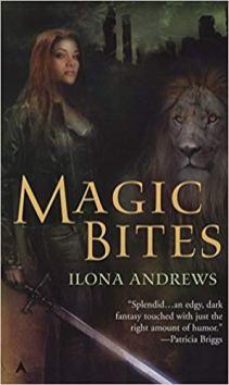 magic bites by ilona andrews original cover