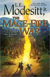 mage fire war by le modesitt jr