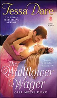 wallflower wager by tessa dare