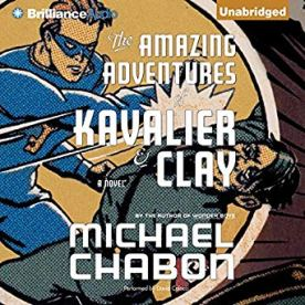 amazing adventures of kavalier and clay by michael chabon audio