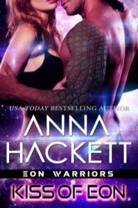 kiss of eon by anna hackett