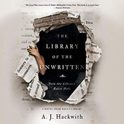 library of the unwritten by aj hackwith audio