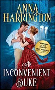 inconvenient duke by anna harrington