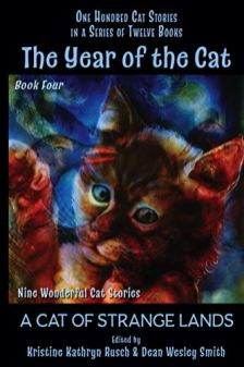 year of the cat cat of strange lands by kristine kathryn rusch and dean wesley wmith