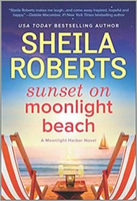sunset on moonlight beach by sheila roberts